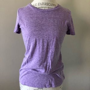 Forever 21 Heathered Purple Cotton Tee Size Small